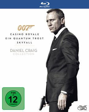 James Bond 007 – Daniel Craig Collection [Blu ray] für 11,49€   wieder da!