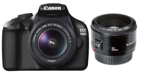 Update! Canon EOS 1100D SLR Digitalkamera für 339€ in den Amazon Blitzangeboten ab 14 Uhr!