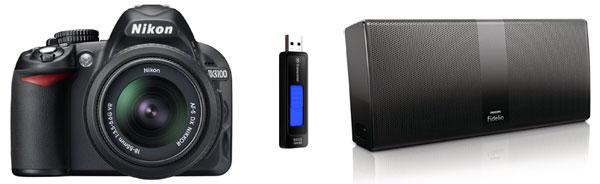 Nikon D3100 DSLR für 279€ und mehr in den Amazon Blitzangeboten ab 18 Uhr!