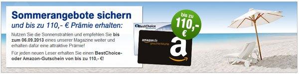 Update! Sommerangebote des DPV   z. B. Stern im Jahreabo für 82,40€