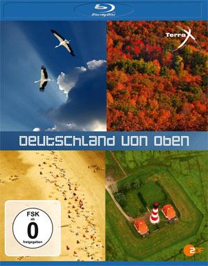 Deutschland von oben Teil 1 & 2 für 8,88€ inkl. Versand als Blu ray