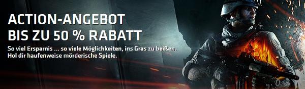Bis zu 50% Rabatt im Origin Store   z. B. Crysis 3 für 9,99€