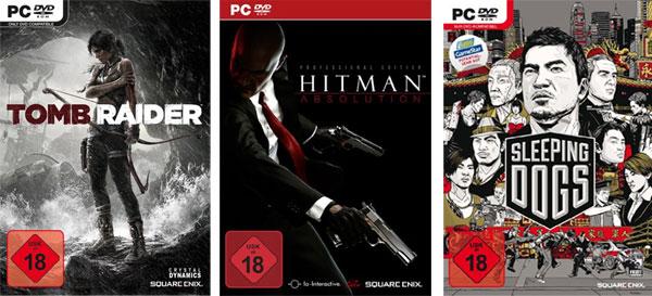 The Tomb of the Sleeping Hitman Pack für 10,48€   Hitman Absolution, Tomb Raider und Sleeping Dogs für PC