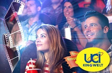 5 Kinogutscheine für UCI ab 27€   Eintrittspreis ab 5,40€ pro Karte
