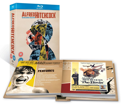 Alfred Hitchcock: The Masterpiece Collection [Blu ray] für 25,31€