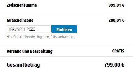HP ENVY 23 d120eg für 799€   All in One PC mit i5 3330S, 4GB RAM und 1TB HDD