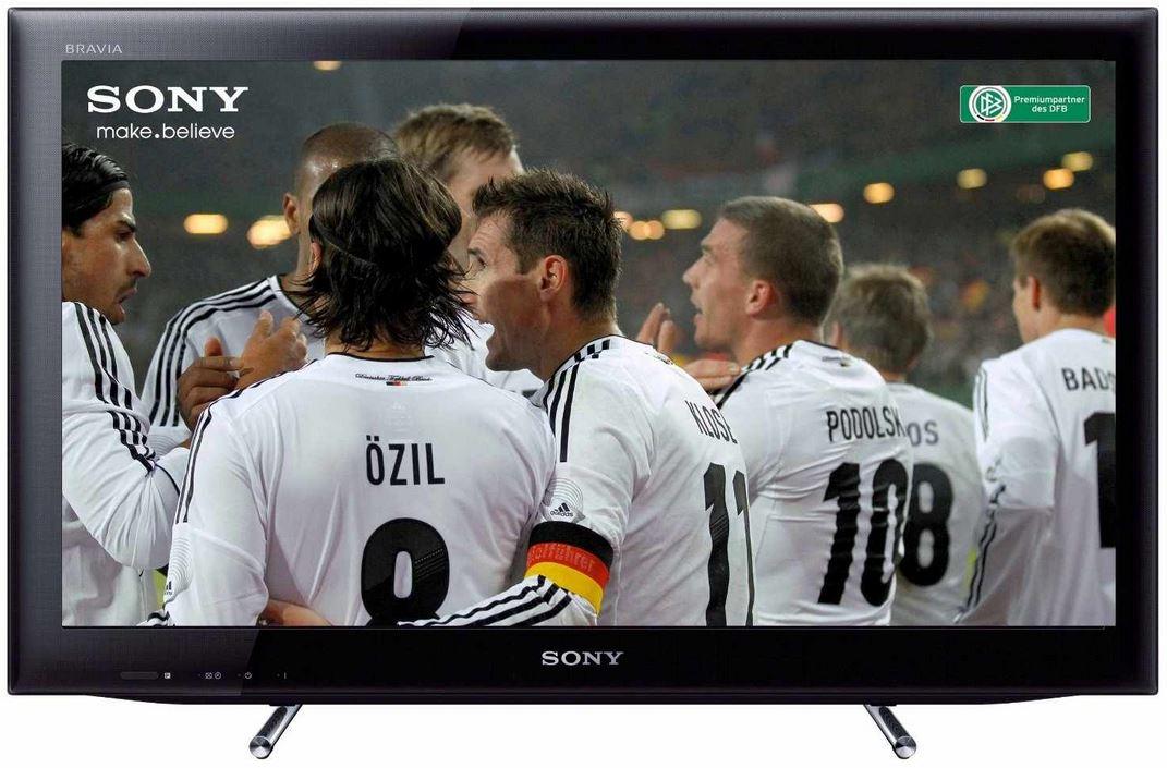 Sony KDL22EX555   22 Zoll WiFi TV mit triple Tuner für 179,99€