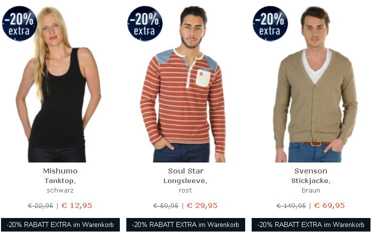 Dress for Less   Late Night Shopping mit 20% Extra Rabatt auf alles   Tommy Hilfiger Pullover ab 43,13€