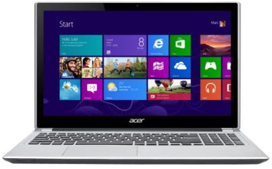Acer V5 571PG 53334G75Mass Touch   15,6 Notebook, Core i5 3337U, 750GB, 4GB für 539€