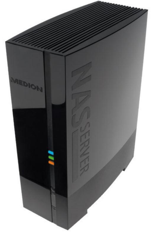 MEDION MD 86587 P89630   externe NAS Festplatte mit 2TB Speicher für 89,99€