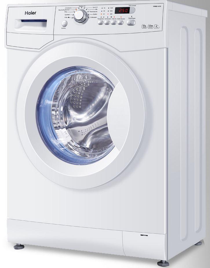 HAIER HW70 1479 Waschmaschine mit 1400 U/min statt 260€ für 229,90€