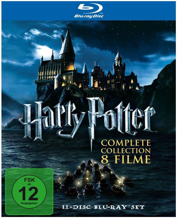 Harry Potter   Complete Blu ray Collection für 44,97€ und mehr Amazon Herbstschnäppchen
