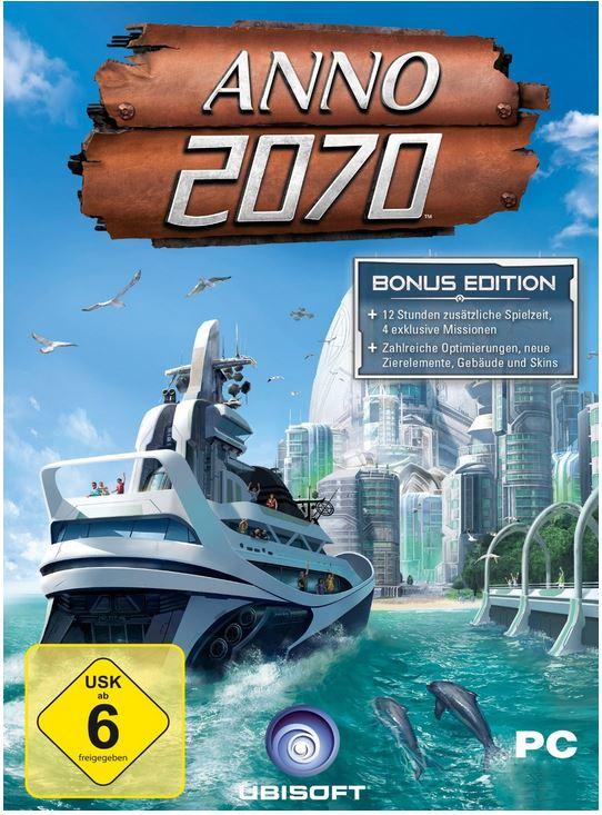 ANNO 2070   Bonus Edition und mehr Amazon Download PC Games der Woche
