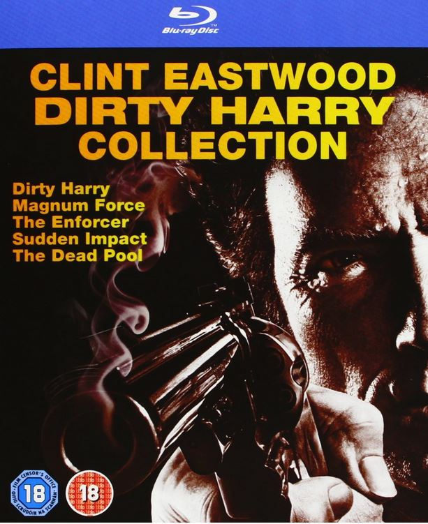 Dirty Harry Blu ray Collection mit 5 Filmen in deutsch für 16,92€