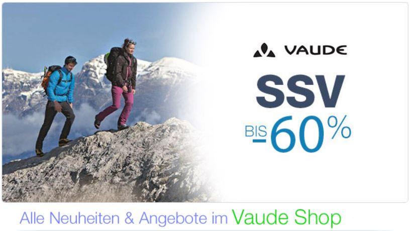 VAUDE   SSV Sale mit bis zu 60% Rabatt bei Amazon!