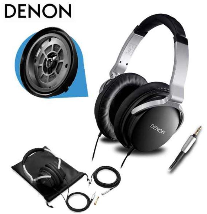 Update! Denon AH D1100 für 32€   Over Ear Kopfhörer