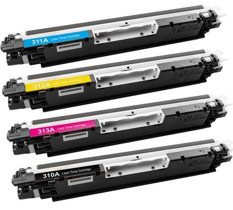 Farb Laser Toner für Samsung, Brother und HP je Set nur 49,99€