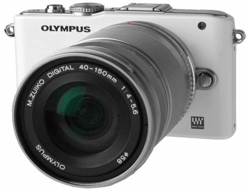 Olympus Pen E PL3   14 150mm Sytemkamera Kit für 363€