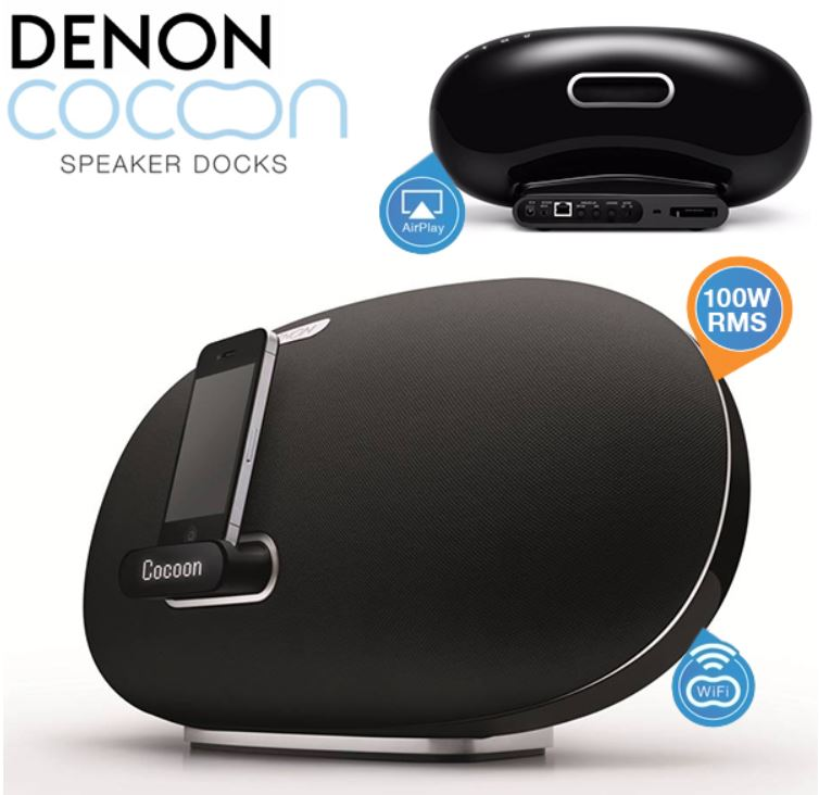 Denon Cocoon Home   Docking Station für Android und iPhone nur 178,90€