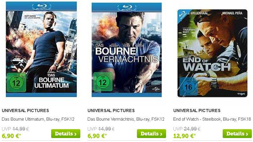 Günstige Blu rays und DVDs dank 20€ brands4friends Gutschein (MBW 50€)