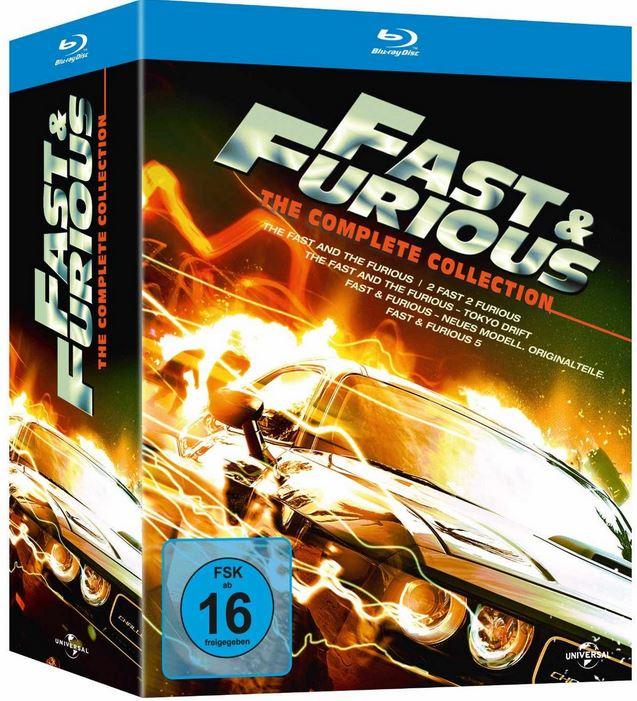 Fast & Furious 1 5 die Blu ray Collection und mehr Amazon Blitzangebote!