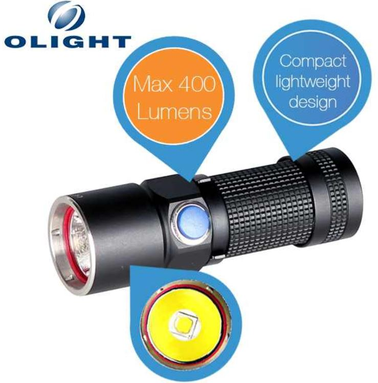 Olight S10 Baton L2   mini Taschenlampe mit der neuesten Cree XM L2 LED für 35,90€