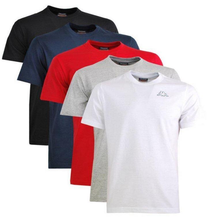 Kappa Muscle Small Logo T Shirt   2er Pack für 15,90€