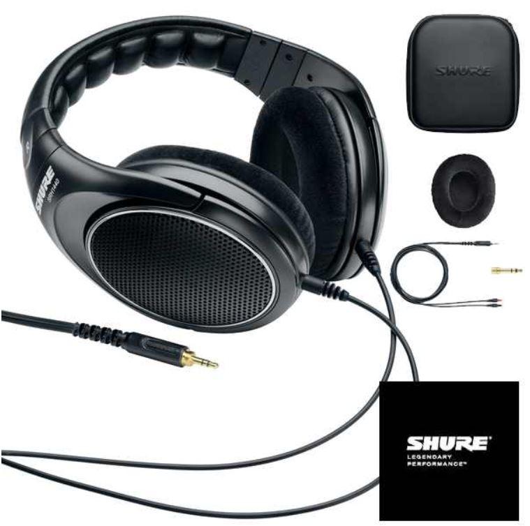 Shure SRH1440   professioneller offener Kopfhörer für 185,90€ (Vergleich 339€)   Update!