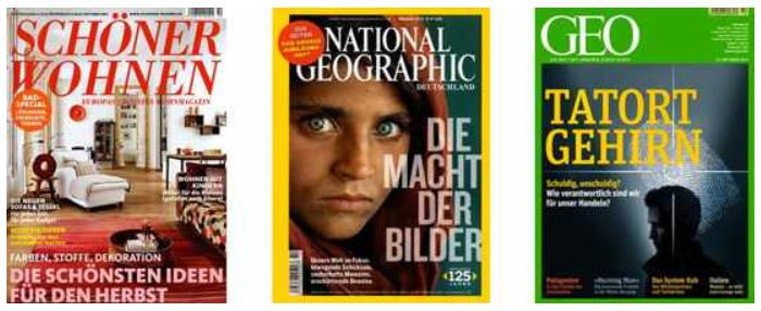 Schöner Wohnen, GEO und National Geographic Jahresabos, dank Prämien ab 11,40€   Update