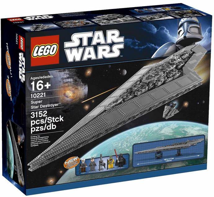 Lego Star Wars 10221, Super Star Destroyer für nur 304,15€   wieder da!