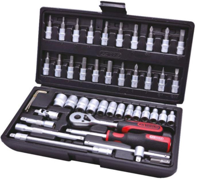 KS Tools Steckschlüsselsatz 48 tlg. für 24,99€
