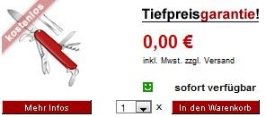 HP Premium Tastatur + Gratisartikel für 1,97€ (zzgl. Versand)