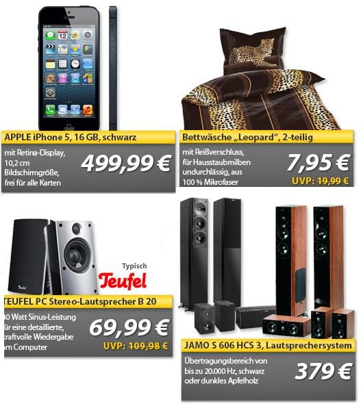 iPhone 5, günstige Teufel & Jamo Lautsprecher ... OHA Deals