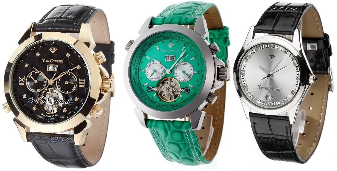 Reduzierte Uhren von Yves Camani