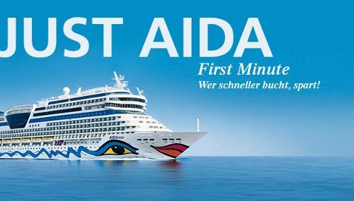 AIDA Nordeuropa Reisen für 1 Woche ab 299€