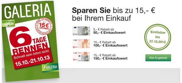 6 Tage Rennen bei Galeria Kaufhof   Diesel Only The Brave 200ml für 53,96€