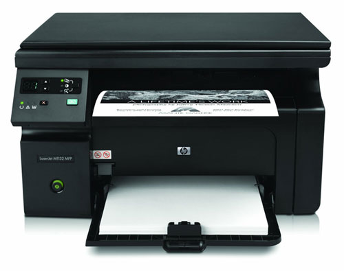 HP Laserjet Pro M1132 für 84,05€   S/W Laserdrucker + Scanner und Kopierer