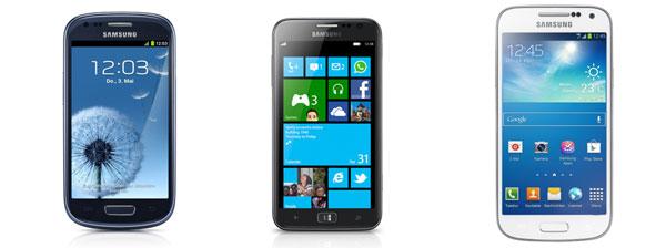 50€ Rabatt auf alle Samsung Smartphones bei notebooksbilliger   Samsung Galaxy S3 Mini für 129€