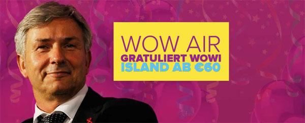 Berlin nach Reykjavik: Hin  und Rückflug für 127€ mit WOW Air