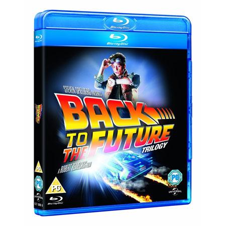Zurück in die Zukunft   Trilogie auf Blu ray für 13,23€