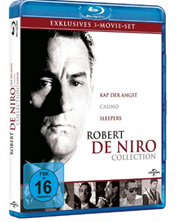 Robert de Niro Blu ray Box (Casino, Kap der Angst und Sleepers) für 11,99€ inkl. Versand