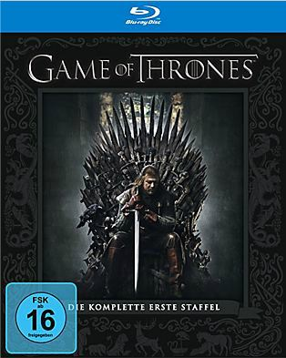 Game of Thrones   erste Staffel auf Blu ray für 14,99€