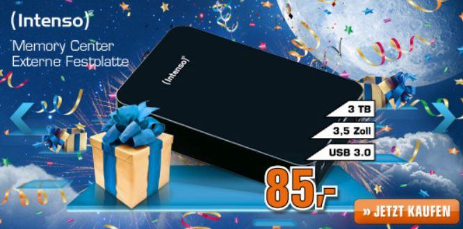 Samsung UE46EH5300 46Zoll TV für 479€ & Intenso externe 3 TB Festplatte für 85€