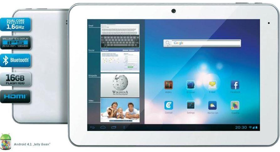 Odys Xelio 10pro   10 Zoll Tablet für 99€