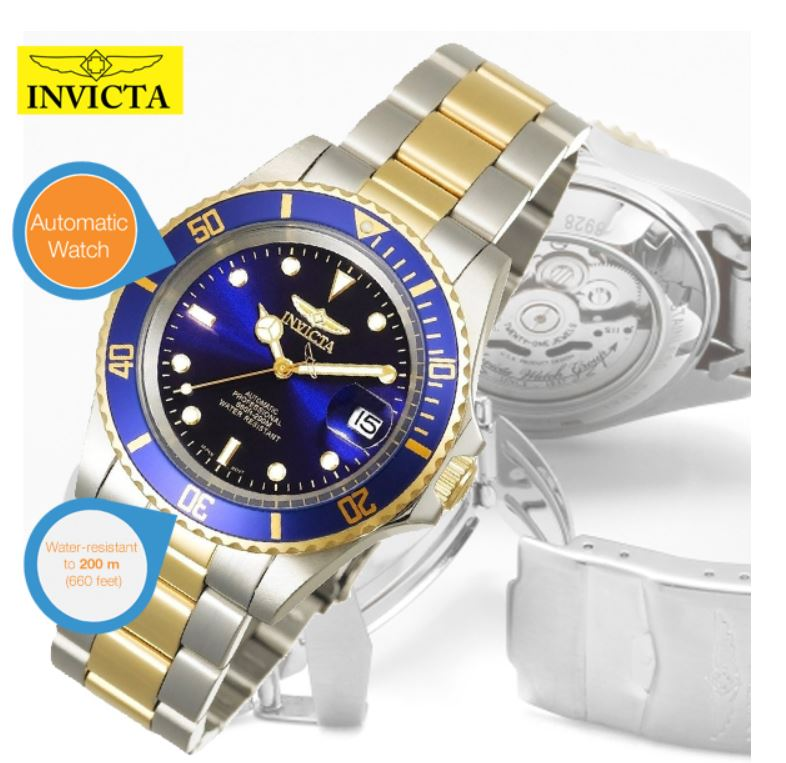 Invicta 8928 Pro Diver Automatikuhr für 85,90€