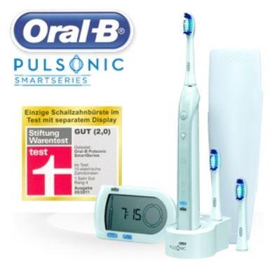 Oral B Pulsonic Smart Series Schallzahnbürste Mit Smartguide Für 7590
