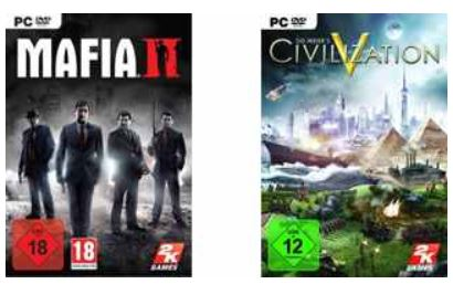 Kostenlos! Civilization V oder Mafia II (Steam, Xbox Live oder PSN)
