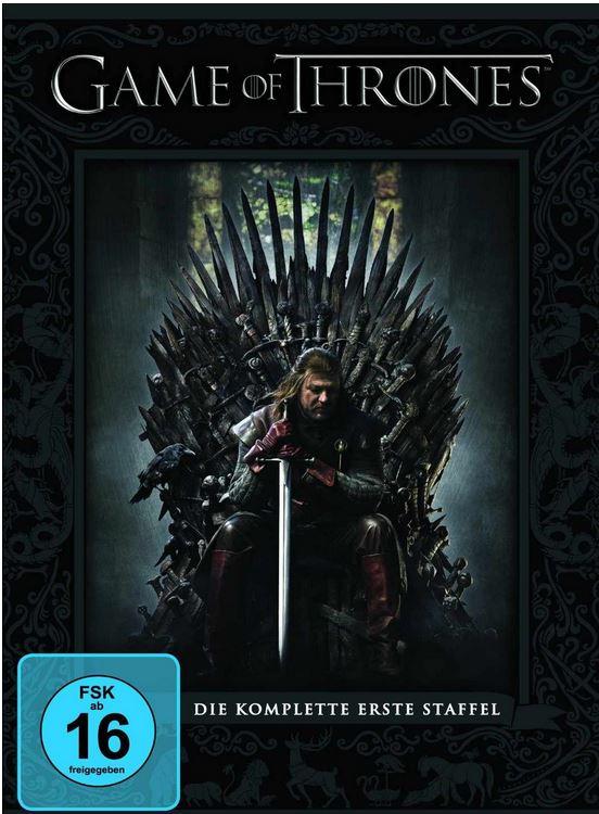 Game of Thrones   die komplette erste Staffel auf DVD für 9,90€