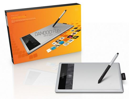 Wacom CTH 670 Bamboo Fun Medium   Grafiktablett für 99,99€   Update!
