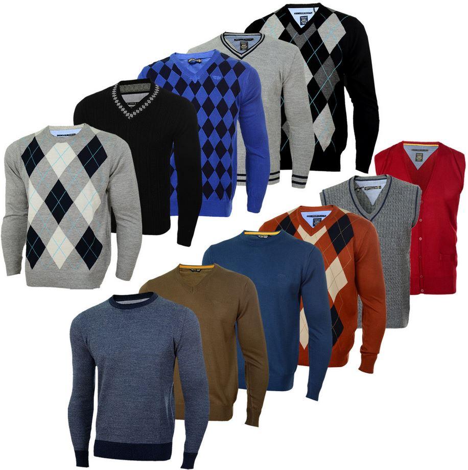 XINT Basic Herren Feinstrick Pullover für je 12,99€